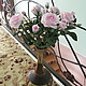 Цветы ручной работы. Ярмарка Мастеров - ручная работа. Купить Кустовая роза. Керамическая флористика. Handmade. Роза, подарок девушке