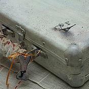 handmade. Livemaster - original item Potaninii, but nice suitcase. Handmade.