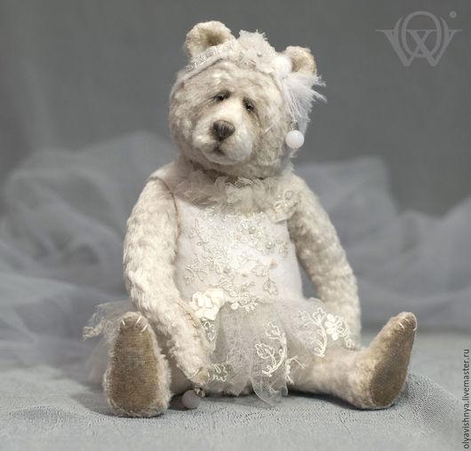 Мишки Тедди ручной работы. Ярмарка Мастеров - ручная работа. Купить Сноуфол (Snowfall) мишка тедди. Handmade. Белый, handmadecollection