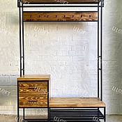 Для дома и интерьера handmade. Livemaster - original item Hanger made of solid pine