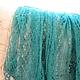 Shawls & Warm Stoles handmade. Livemaster - handmade. Buy The Maltese shawl, jade.Mohair, stole for girls