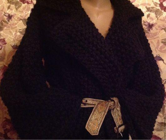 """Верхняя одежда ручной работы. Ярмарка Мастеров - ручная работа. Купить """" Ночная Нева""""      эксклюзивное пальто. Handmade. Черный"""
