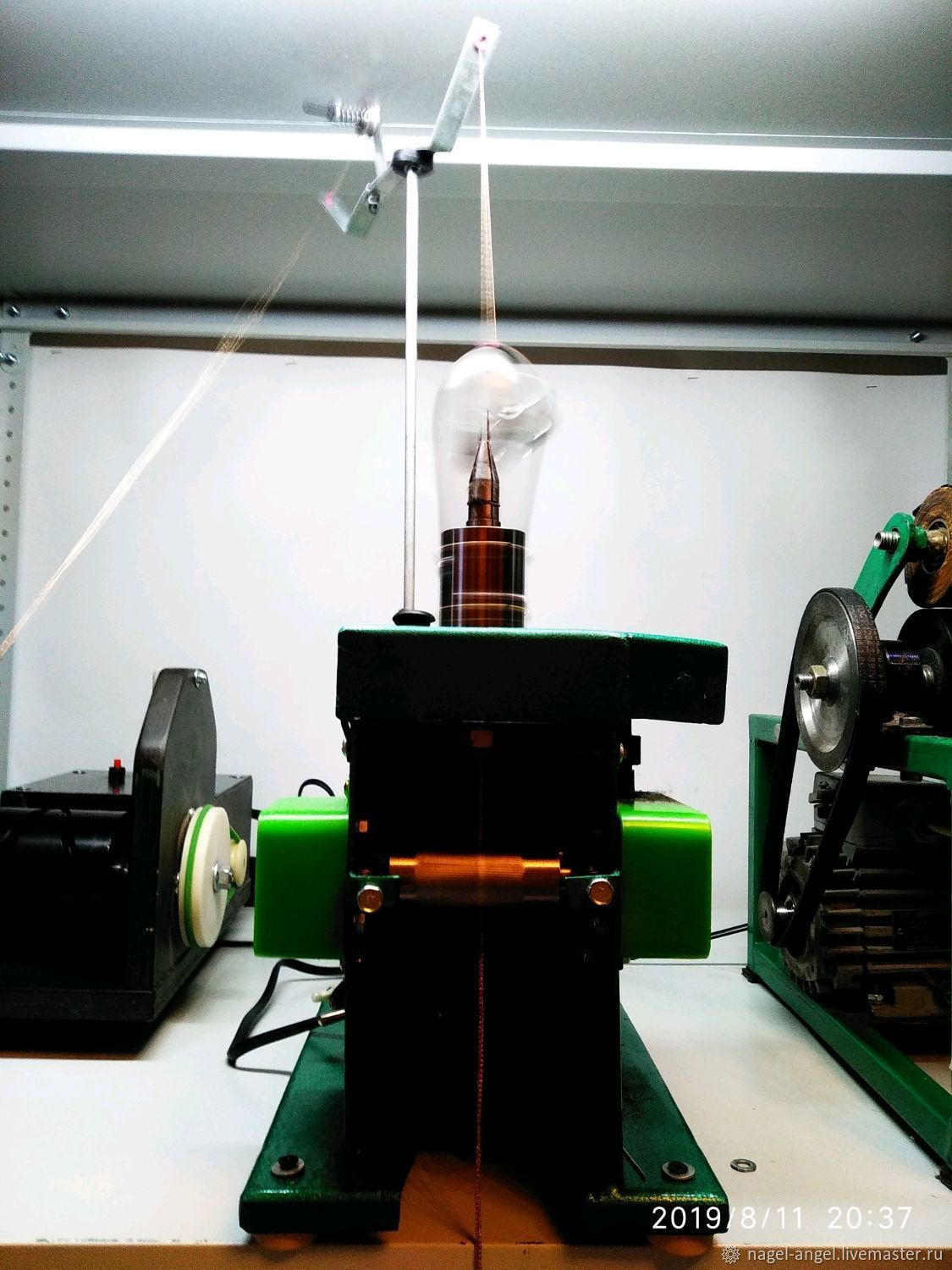 Machine for the production of LACE, Knitting tools, Permian,  Фото №1