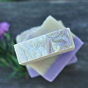 Косметика ручной работы. Ярмарка Мастеров - ручная работа Фиалки, нежное мыло на овсяном молочке с маслом ши. Handmade.