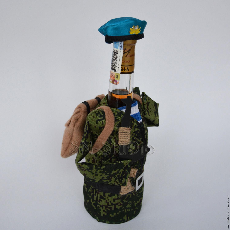 Подарок десантнику из конфет 42