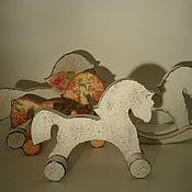 Для дома и интерьера ручной работы. Ярмарка Мастеров - ручная работа Лошадки разные. Handmade.