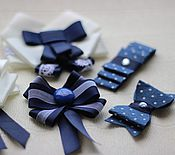 Работы для детей, ручной работы. Ярмарка Мастеров - ручная работа Галстучки-броши для школьниц. Handmade.