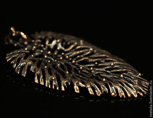 Для украшений ручной работы. Ярмарка Мастеров - ручная работа. Купить Мхи и травы 2854-650 (1). Handmade. Бронза