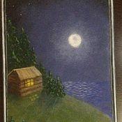Картины и панно ручной работы. Ярмарка Мастеров - ручная работа Ночная тишь. Handmade.