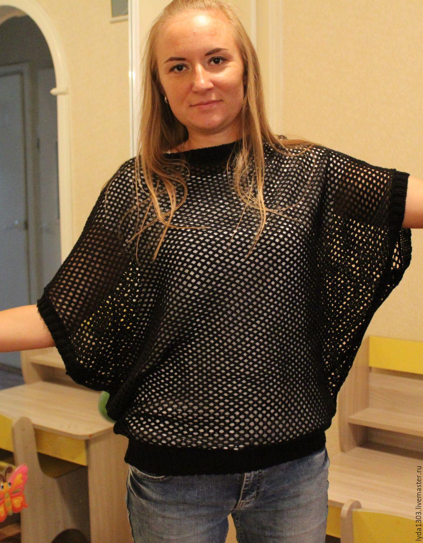 Summer top with a flat shoulder, Tops, Bratsk,  Фото №1