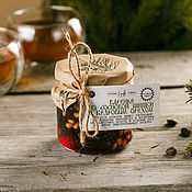 Сувениры и подарки handmade. Livemaster - original item Pine cone jam with pine nuts. Handmade.