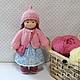 Вальдорфская игрушка ручной работы. Куколка для Нины, 23 см. svetlana. Ярмарка Мастеров. Детская кукла, кукла текстильная