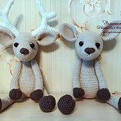 Куклы и игрушки ручной работы. Ярмарка Мастеров - ручная работа Оленятки. Handmade.