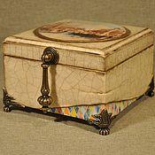 """Для дома и интерьера ручной работы. Ярмарка Мастеров - ручная работа Шкатулка  """"Вернуться в Венецию"""". Handmade."""