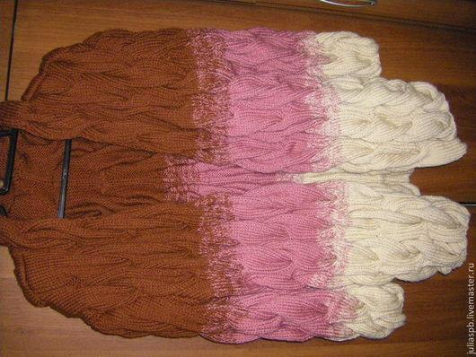 Кофты и свитера ручной работы. Ярмарка Мастеров - ручная работа. Купить кардиган  в стиле лало ручная вязка. Handmade.