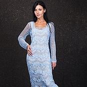 Одежда ручной работы. Ярмарка Мастеров - ручная работа Длинное платье женское. Handmade.