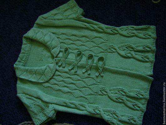 """Пиджаки, жакеты ручной работы. Ярмарка Мастеров - ручная работа. Купить Жакет с подиума """"Лесная сказка"""". Handmade. Зеленый, баска"""