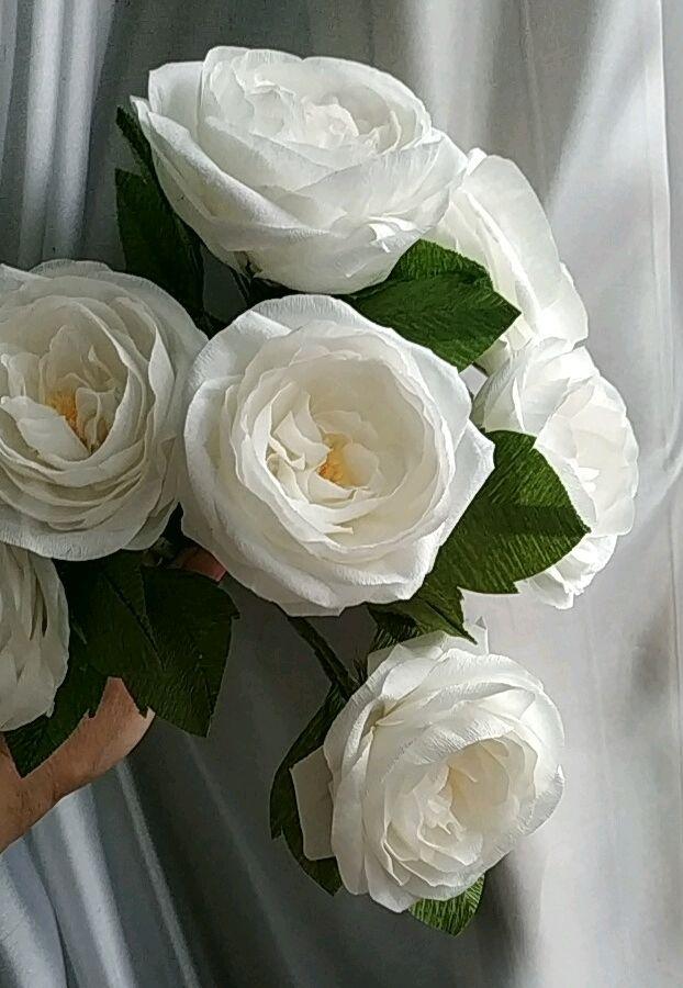 бумажные  цветы, Букеты, Москва,  Фото №1