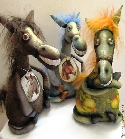 Куклы и игрушки ручной работы. Ярмарка Мастеров - ручная работа. Купить Лошадки-кобылки. Handmade. Конь, подарок на любой случай
