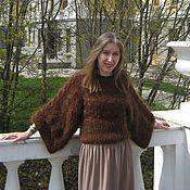 """Одежда ручной работы. Ярмарка Мастеров - ручная работа Пуловер """"Каштан"""". Handmade."""