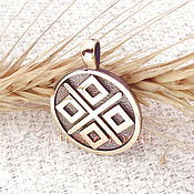 Русский стиль handmade. Livemaster - original item Slavic amulet] amulet made of metal. Handmade.