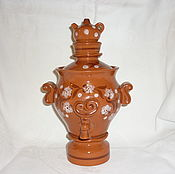 Винтаж handmade. Livemaster - original item DECORATIVE SAMOVAR. 29 cm. Ceramics. Handmade.