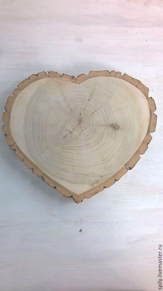 Деревья ручной работы. Ярмарка Мастеров - ручная работа. Купить спил дерева сердце. Handmade. Лимонный, спил дерева, тополь