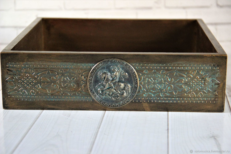 Bronze box, Crates, Krasnodar,  Фото №1