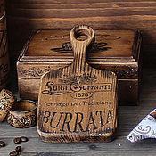 Для дома и интерьера handmade. Livemaster - original item cheese cutting board from little elm