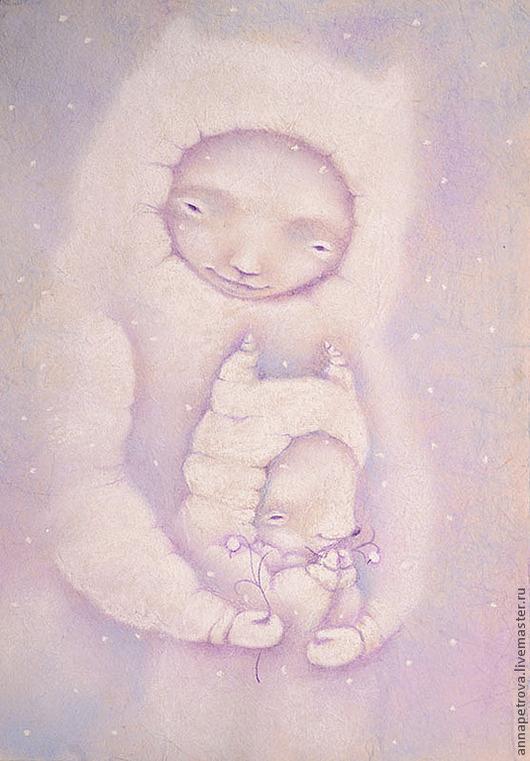 Картина для детской Бельчонок