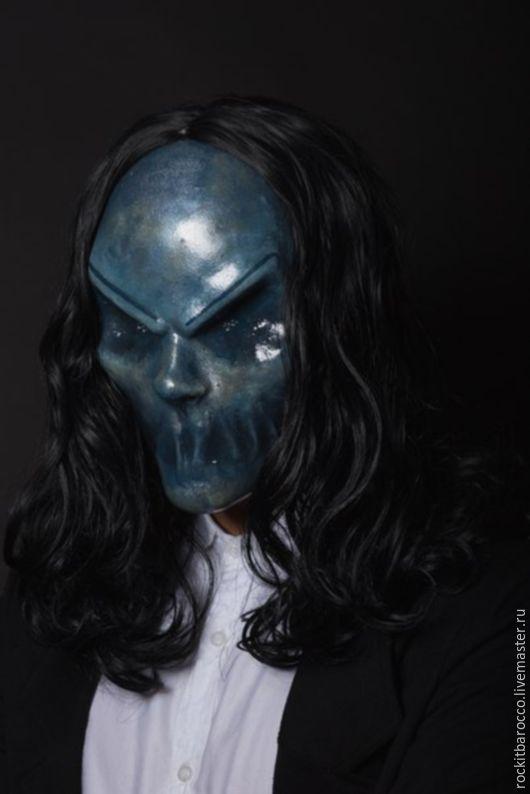 Карнавальные костюмы ручной работы. Ярмарка Мастеров - ручная работа. Купить маска Багула из кинофильма Синистер. Handmade. Тёмно-синий