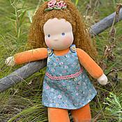 Куклы и игрушки ручной работы. Ярмарка Мастеров - ручная работа СКИДКА!!!! Вальдорфская кукла Милашка, 33 см. Handmade.