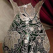 Для дома и интерьера ручной работы. Ярмарка Мастеров - ручная работа Белые цветы Ваза. Handmade.