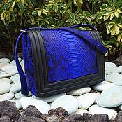 Сумки и аксессуары handmade. Livemaster - original item Chanel Python skin bag. Handmade.