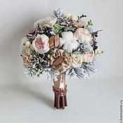 Свадебные букеты ручной работы. Ярмарка Мастеров - ручная работа Зимний букет невесты. Handmade.