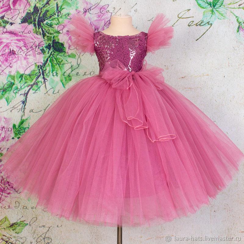 7ffc7e4f6af8147 Одежда для девочек, ручной работы. Ярмарка Мастеров - ручная работа. Купить  Нарядное платье ...