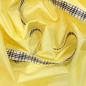 Ткани ручной работы. Ярмарка Мастеров - ручная работа Ткань муслин хлопок 100% ширина 150 см цвет желтый. Handmade.