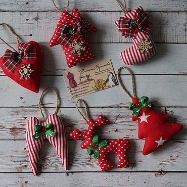 Сувениры и подарки ручной работы. Ярмарка Мастеров - ручная работа Игрушка на ёлку. Handmade.