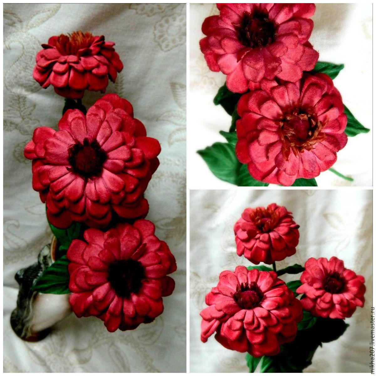 Букет цветов из цинии