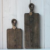 Посуда handmade. Livemaster - original item Set of wooden cutting boards. Handmade.