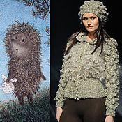 """Одежда ручной работы. Ярмарка Мастеров - ручная работа Курточка """"Ежик в тумане"""". Handmade."""