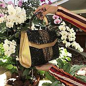 Сумки и аксессуары handmade. Livemaster - original item Raina Python leather handbag. Handmade.