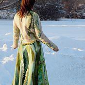 Одежда ручной работы. Ярмарка Мастеров - ручная работа Костюм валяный юбка плюс жакет. Handmade.