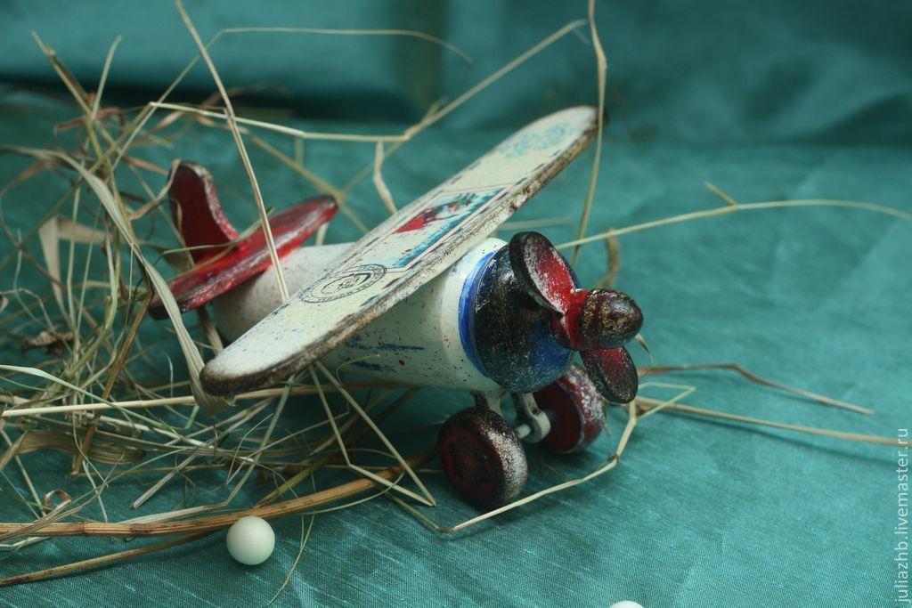 Santa Claus mail airplane (wood), Ded Moroz and Snegurochka, Sergiev Posad,  Фото №1