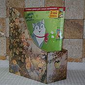 "Канцелярские товары ручной работы. Ярмарка Мастеров - ручная работа Журнальница ""Foxwood tales"". Handmade."