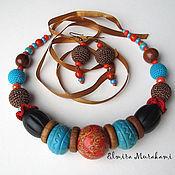 Украшения ручной работы. Ярмарка Мастеров - ручная работа Африканские мотивы. Handmade.
