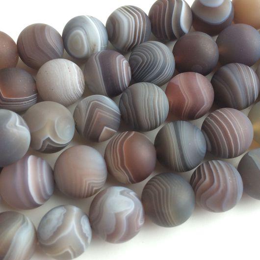Для украшений ручной работы. Ярмарка Мастеров - ручная работа. Купить Агат ботсвана матовый. Handmade. Ботсвана, натуральные камни