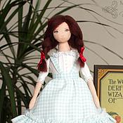 Куклы и игрушки ручной работы. Ярмарка Мастеров - ручная работа Дороти (Волшебник страны Оз) - авторская текстильная кукла. Handmade.