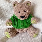 Куклы и игрушки ручной работы. Ярмарка Мастеров - ручная работа медведь Трюфель. Handmade.