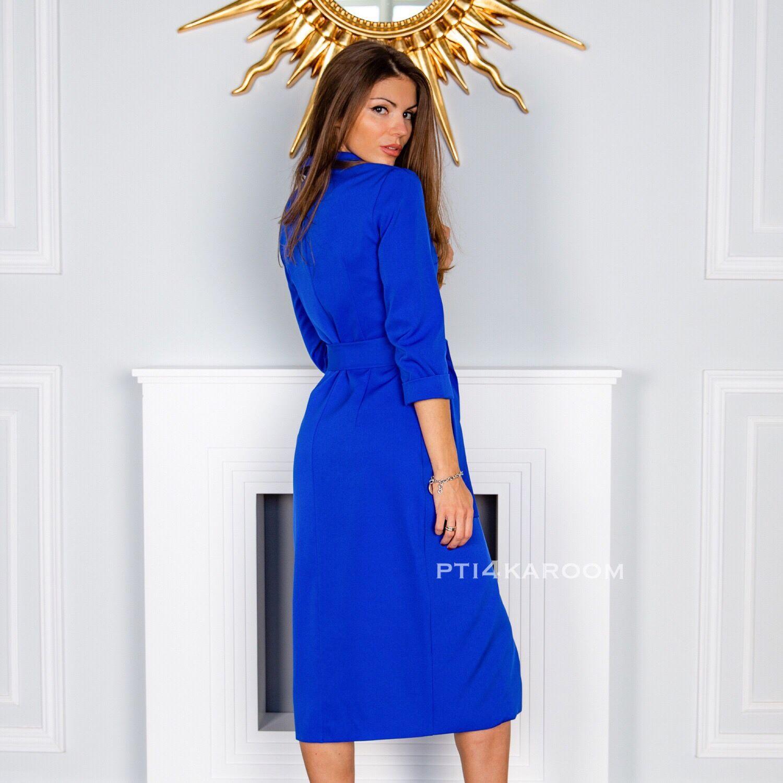 Интернет-магазин Ярмарка Платья ручной работы. Заказать Синее платье-пиджак.  Pti4ka Room. Ярмарка Мастеров. ... 0a6de78db40